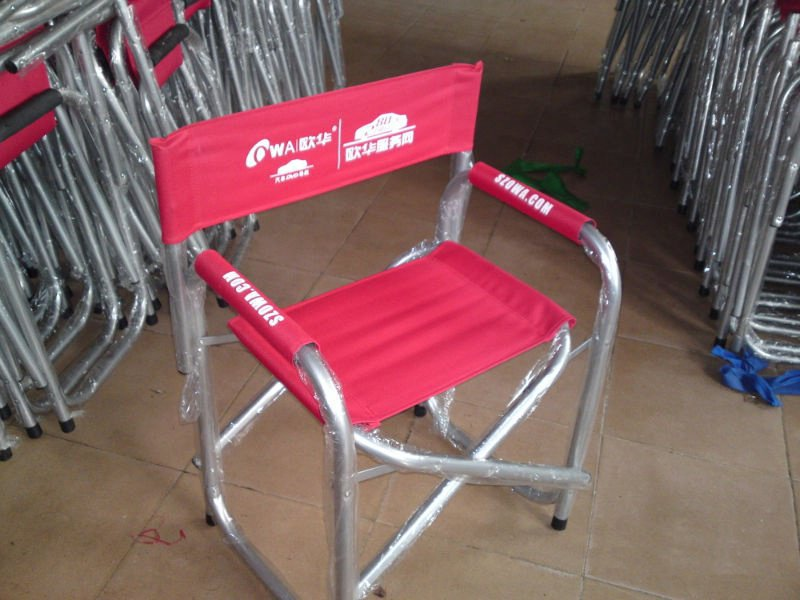 Delicieux Custom Directoru0027s Chairs, Personalized Aluminum Folding ...