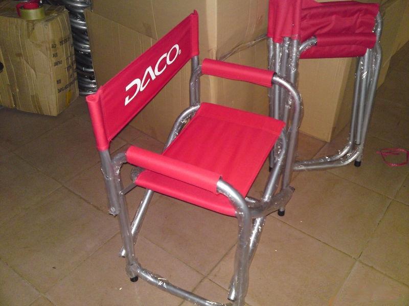 Custom Directoru0027s Chairs, Personalized Aluminum Folding ...