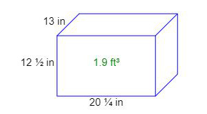 Cubic Feet Calculator (inches,feet,yards,mm,cm,m to cf³)
