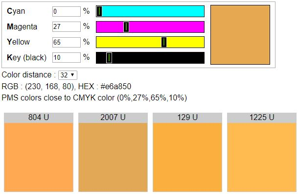 Cmyk To Uncoated Pms Colors
