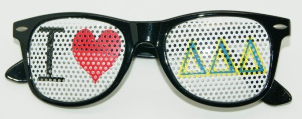Removable logo sticker glasses model rsls20407 50