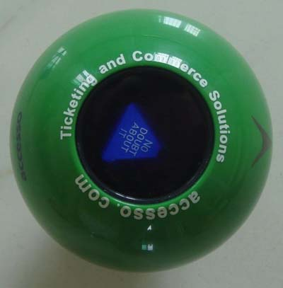 Magic 8 Ball having bubbles? Dissassemble.