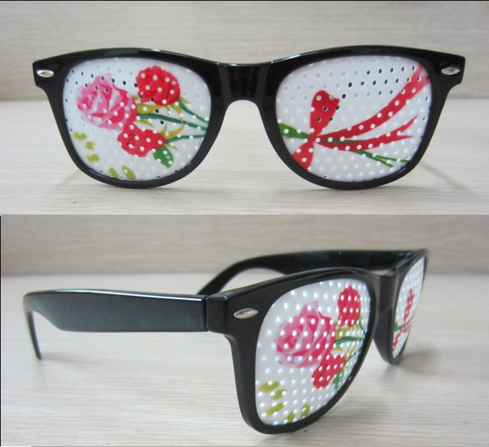 Eyeglass Frames Paint : Color Painting Pinhole Glasses - Custom art printed on ...