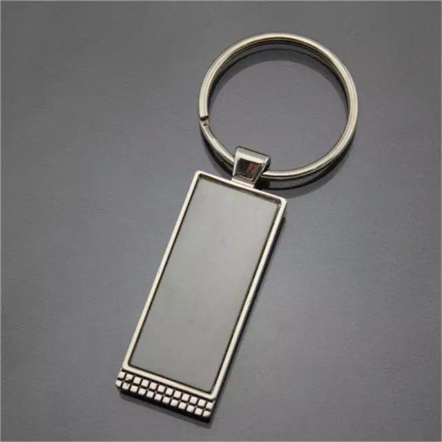Custom Promotional Rectangular Key Ring Wholesale China Supplier