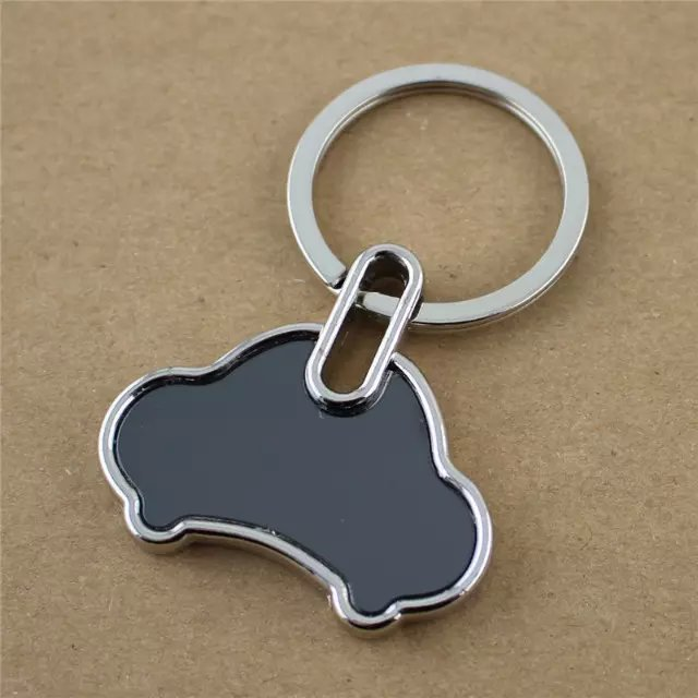 Custom Car Shaped Metal Keychain - Custom Keychains