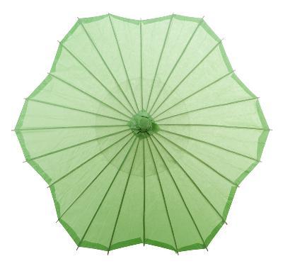 Custom printed paper umbrellas