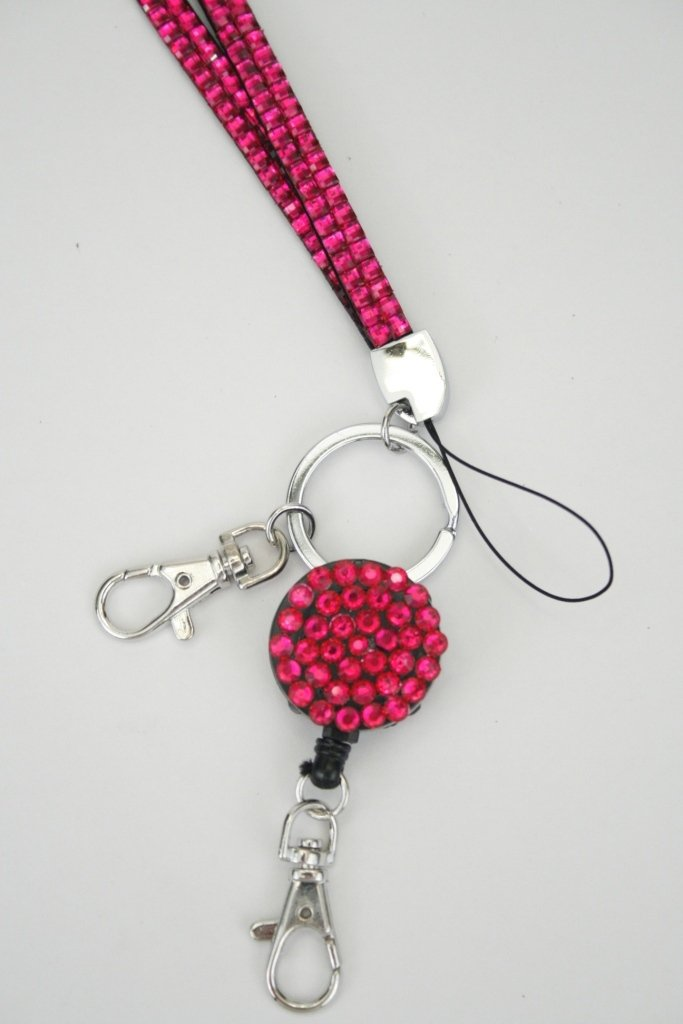 MB999 Rhinestone Badge Reel Bling Retractable Badge Reel Choose Any Design from My Shop Bling Retractable Badge Holder