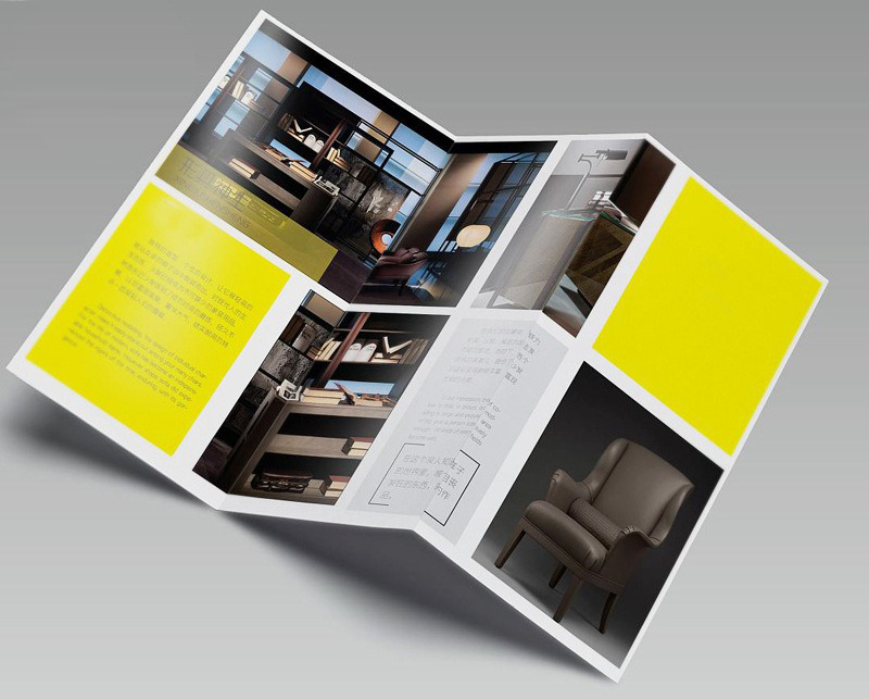 brochure printing service in china