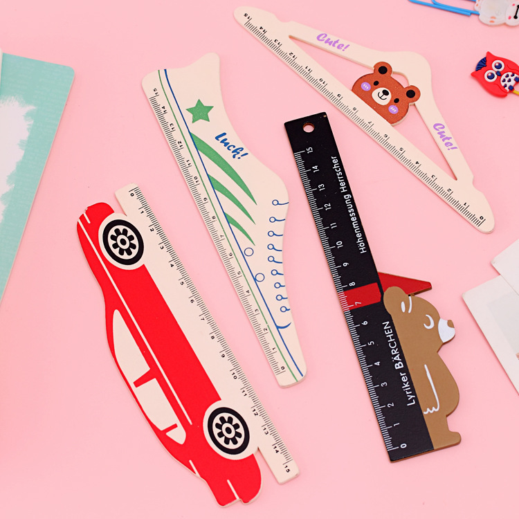 Cute Wooden Rulers China Supplier Wholesale